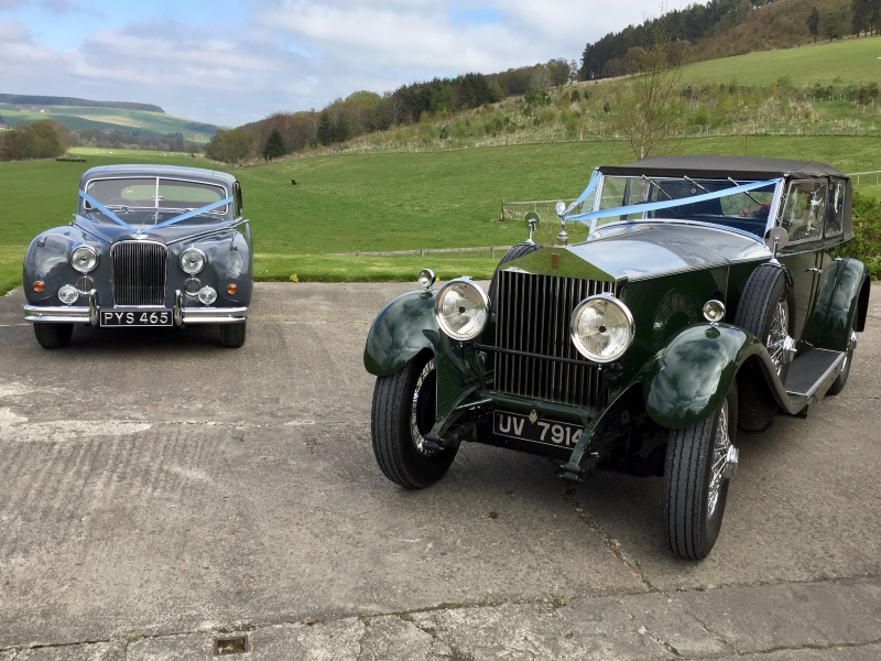 Classic and Vintage Wedding Car Hire - Moray Motor Museum